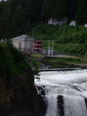 Falls and Power Station