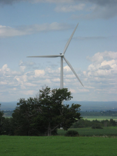 Wind Turbine Tug Hill Plateau