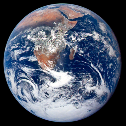 Apollo 17: the Blue Marble